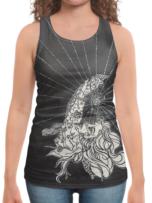 Борцовка с полной запечаткой Printio Девушка-космос от milanna футболка с полной запечаткой женская printio девушка море от milanna