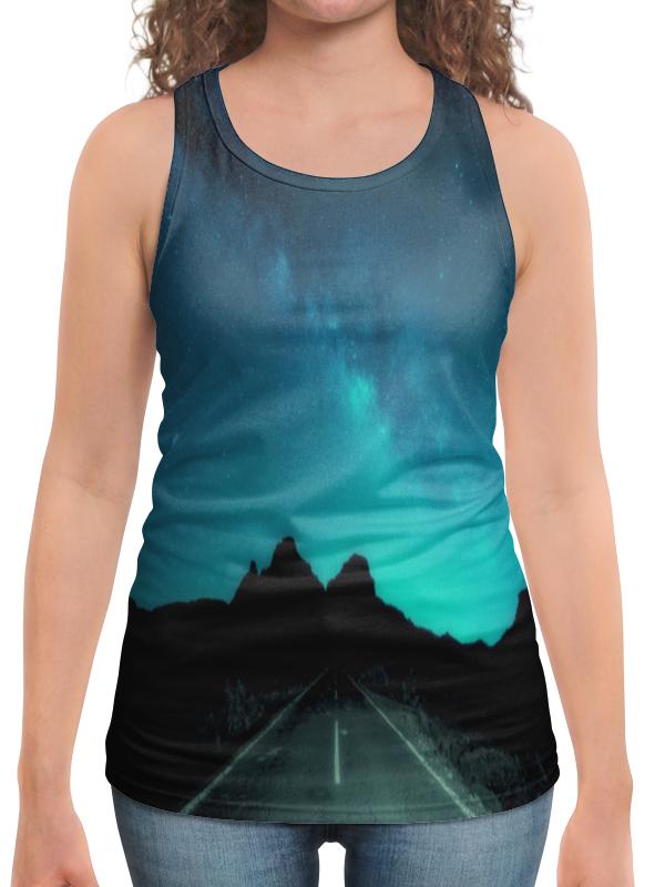 Фото - Борцовка с полной запечаткой Printio Ночная дорога футболка с полной запечаткой мужская printio ночная дорога