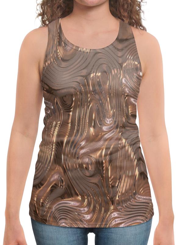 Борцовка с полной запечаткой Printio Золотой шелк юбка в складку printio золотой шелк