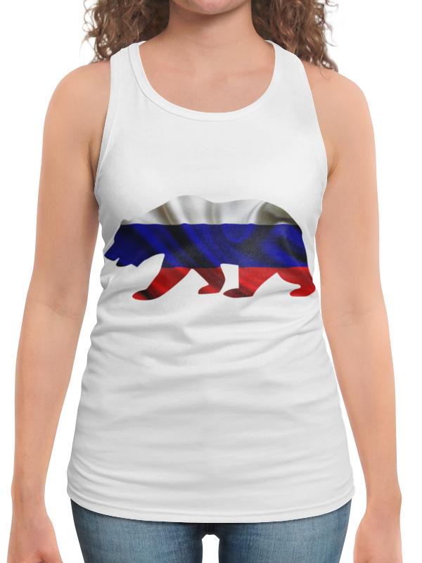 Борцовка с полной запечаткой Printio Русский медведь