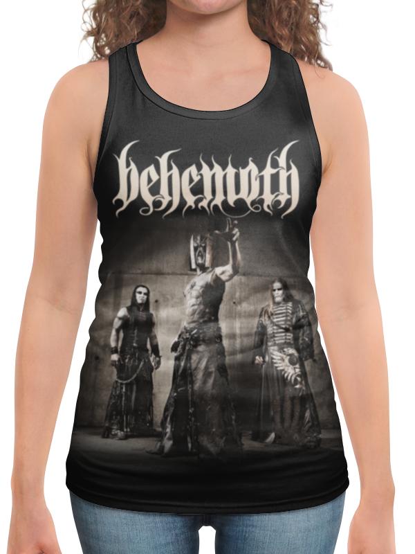 Борцовка с полной запечаткой Printio Behemoth behemoth behemoth zos kia cultus here and beyond
