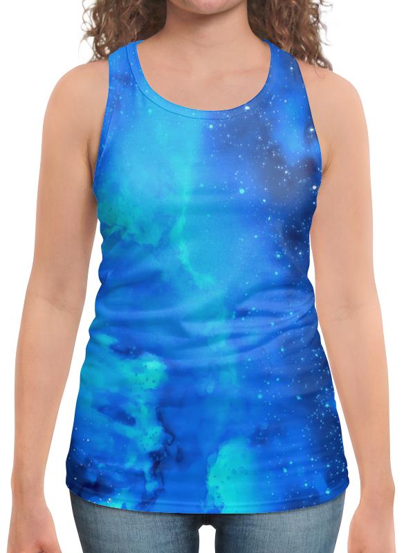 Борцовка с полной запечаткой Printio Звездное небо платье летнее printio звездное небо