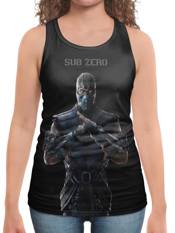 Борцовка с полной запечаткой Printio Mortal kombat x (sub-zero) сумка с полной запечаткой printio mortal kombat x sub zero