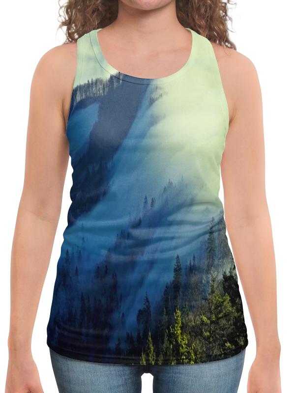 Борцовка с полной запечаткой Printio Живописный пейзаж юбка в складку printio живописный пейзаж