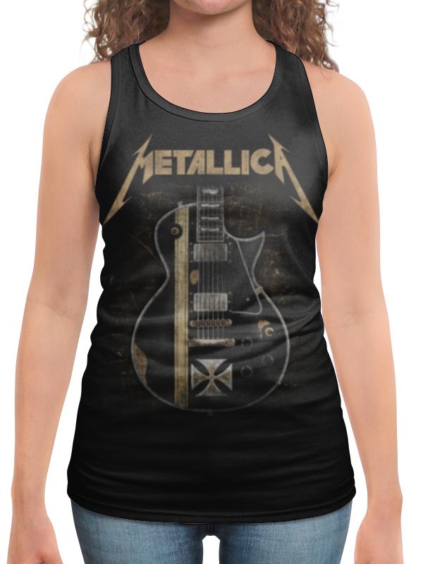 Борцовка с полной запечаткой Printio Metallica майка борцовка print bar metallica hardwired