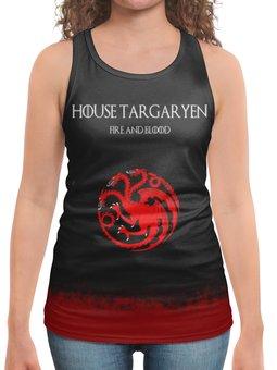 """Борцовка с полной запечаткой """"House Targaryen"""" - сериал, игра престолов, game of thrones, targaryen, таргариены"""