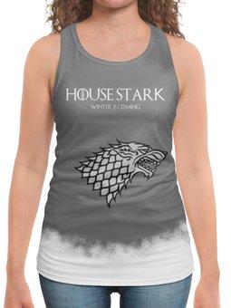 """Борцовка с полной запечаткой """"House Stark"""" - сериал, игра престолов, старки, game of thrones, stark"""