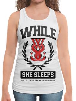 "Борцовка с полной запечаткой ""While She Sleeps"" - музыка, группы, метал, металкор, while she sleeps"