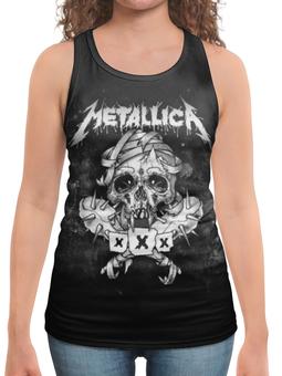 """Борцовка с полной запечаткой """"Metallica"""" - рок, metallica, группы, метал, металлика"""