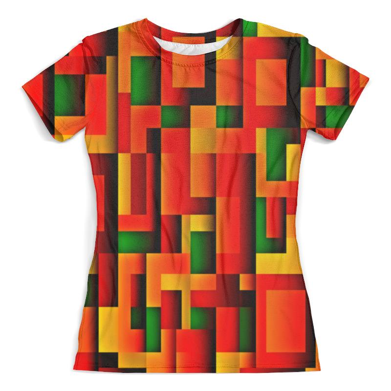Футболка с полной запечаткой (женская) Printio Орнамент графический графический дизайн