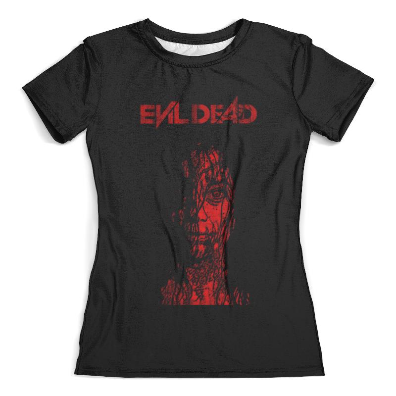Футболка с полной запечаткой (женская) Printio Зловещие мертвецы / the evil dead