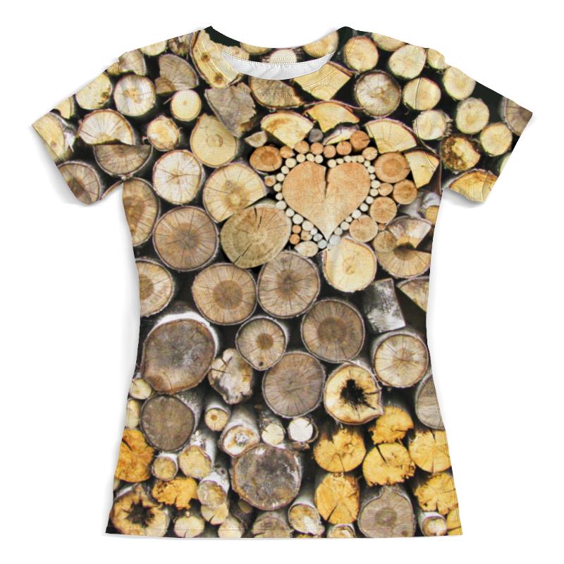 Printio Дрова сердечные. 2 футболка с полной запечаткой мужская printio дрова