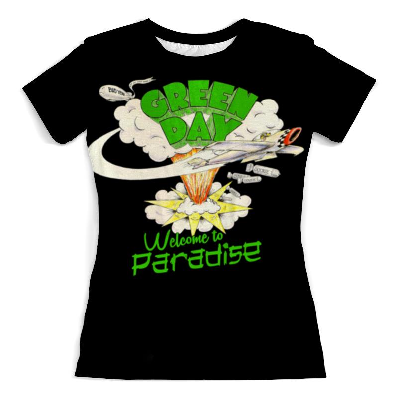Фото - Футболка с полной запечаткой (женская) Printio Green day футболка с полной запечаткой мужская printio green day