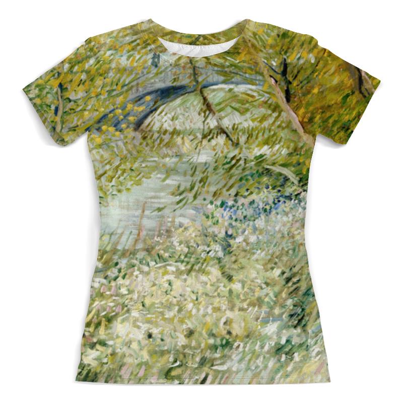 Printio Берег реки весной ( винсент ван гог) футболка с полной запечаткой женская printio зеленые поля пшеницы винсент ван гог