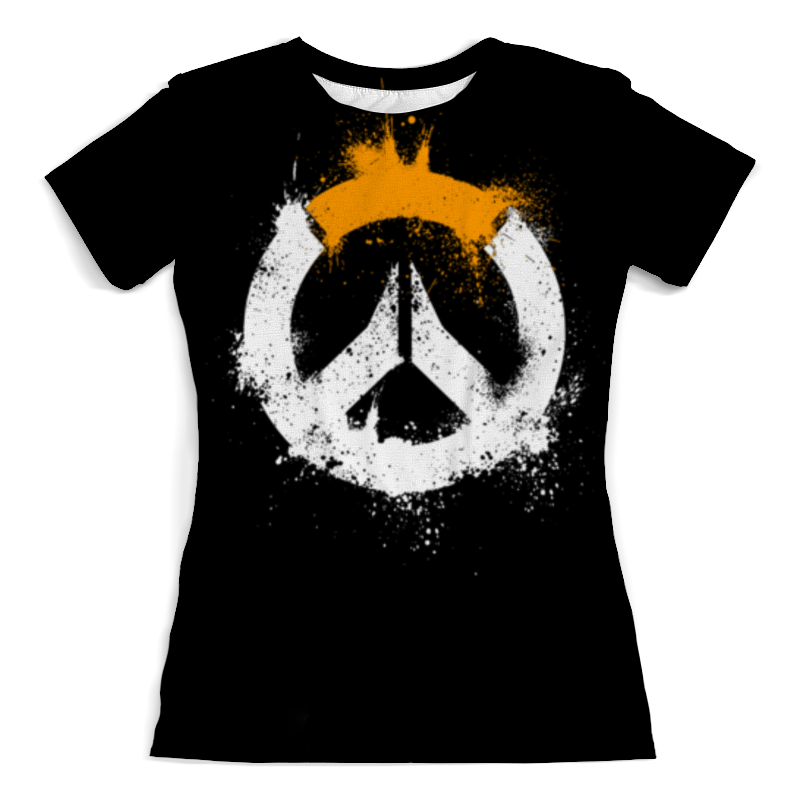Футболка с полной запечаткой (женская) Printio Overwatch футболка с полной запечаткой женская printio overwatch mei