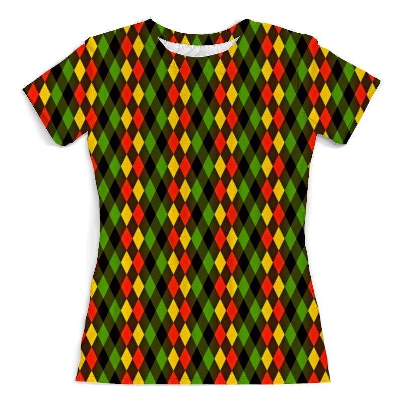 Фото - Printio Ромбы цветные футболка с полной запечаткой женская printio ромбы
