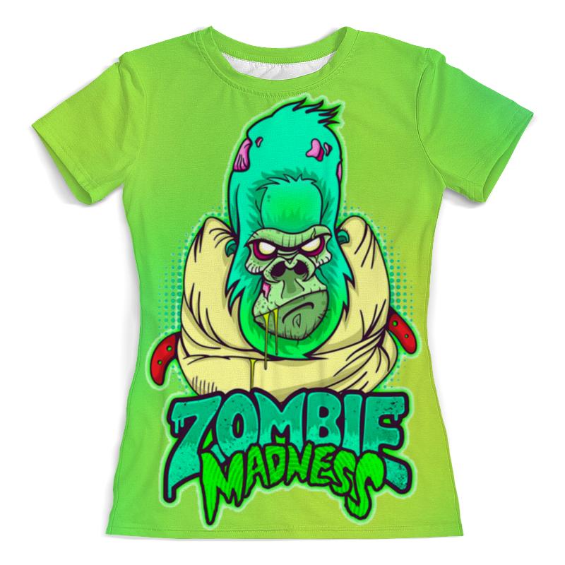 Футболка с полной запечаткой (женская) Printio Zombie madness плакат a3 29 7x42 printio zombie madness