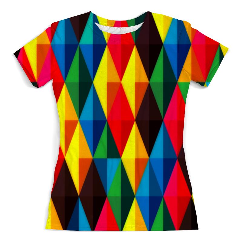 Фото - Футболка с полной запечаткой (женская) Printio Colors футболка с полной запечаткой мужская printio colors