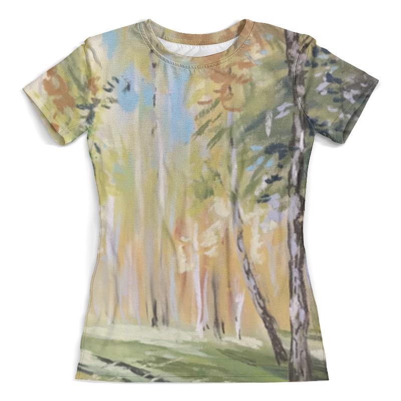 Футболка с полной запечаткой (женская) Printio Осень футболка с полной запечаткой женская printio свечки в небо