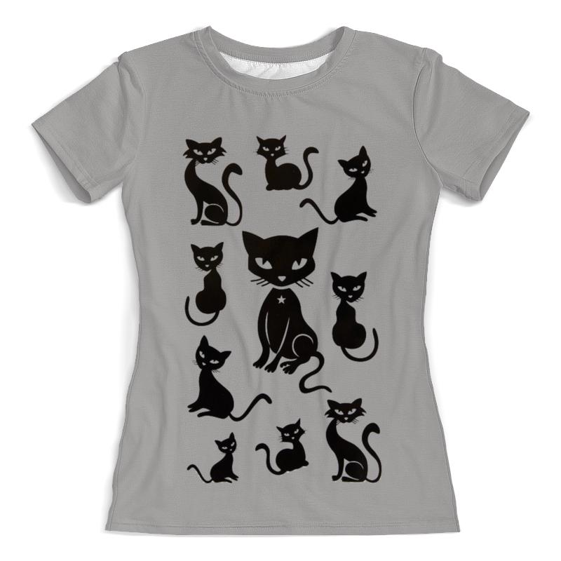 Фото - Футболка с полной запечаткой (женская) Printio Кошки футболка с полной запечаткой женская printio чёрные кошки