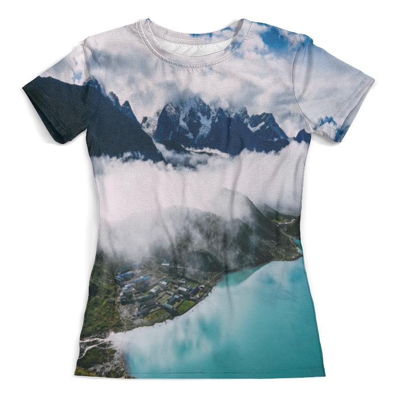 Футболка с полной запечаткой (женская) Printio Туман в горах футболка print bar мертвый туман