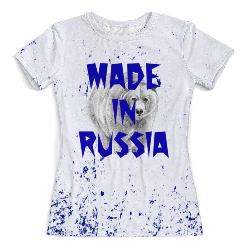 Printio Мишка футболка с полной запечаткой женская printio мишка и бабочки