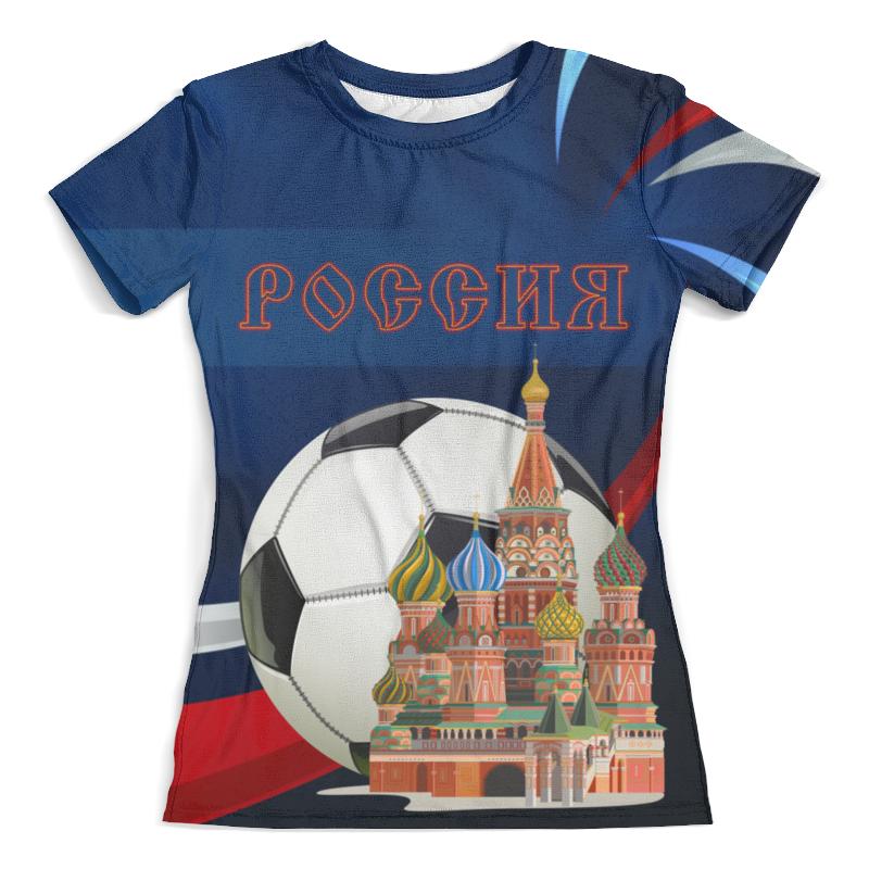 Футболка с полной запечаткой (женская) Printio Россия design masterclass interior design