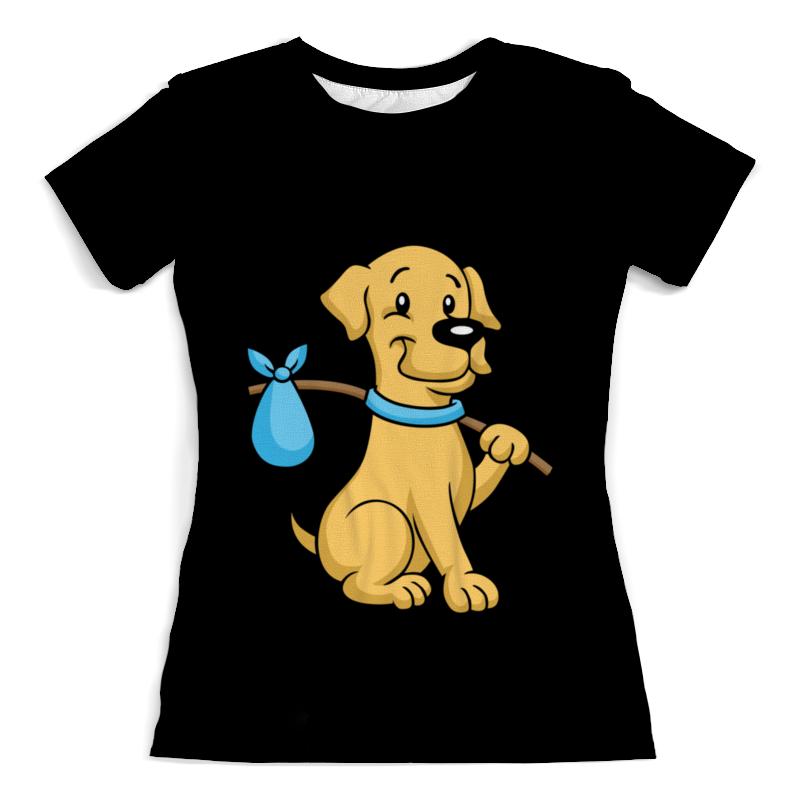 Футболка с полной запечаткой (женская) Printio Пёс-бродяга футболка с полной запечаткой для девочек printio пёс бродяга