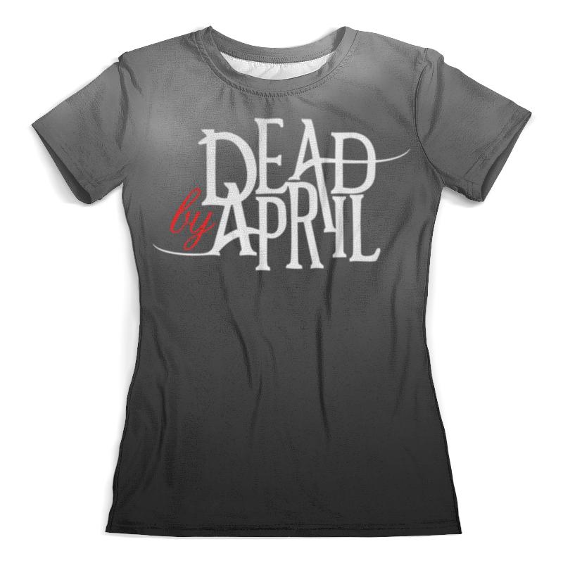 Футболка с полной запечаткой (женская) Printio Dead by april футболка dead by daylight