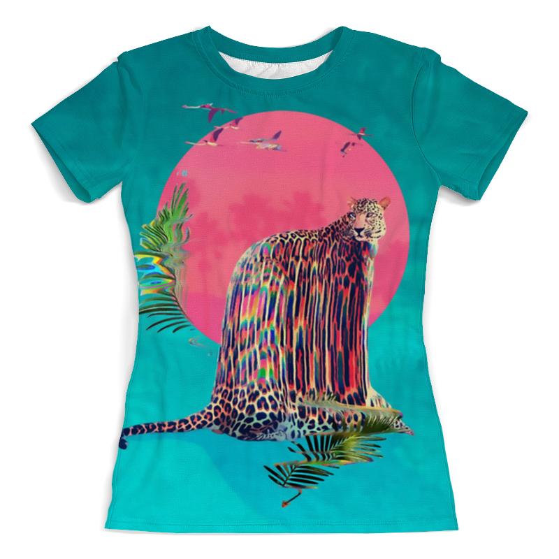Футболка с полной запечаткой (женская) Printio Тигр арт футболка с полной запечаткой мужская printio тигр арт 1