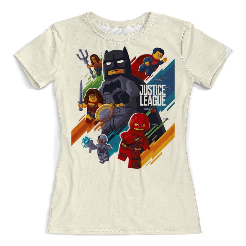 цена Printio Лига справедливости / justice league. lego онлайн в 2017 году