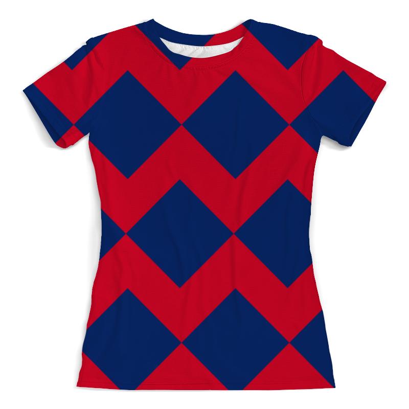 Фото - Printio Цветные ромбы футболка с полной запечаткой женская printio ромбы