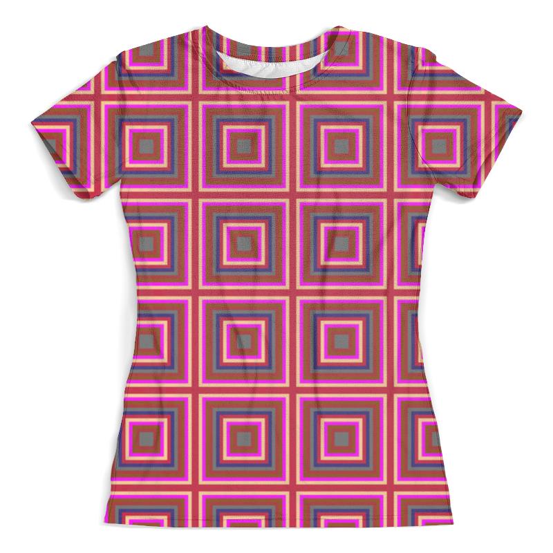 Футболка с полной запечаткой (женская) Printio Квадрат футболка с полной запечаткой женская printio battlefield v