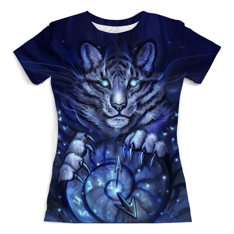 Футболка с полной запечаткой (женская) Printio Тигр футболка с полной запечаткой мужская printio тигр 3d