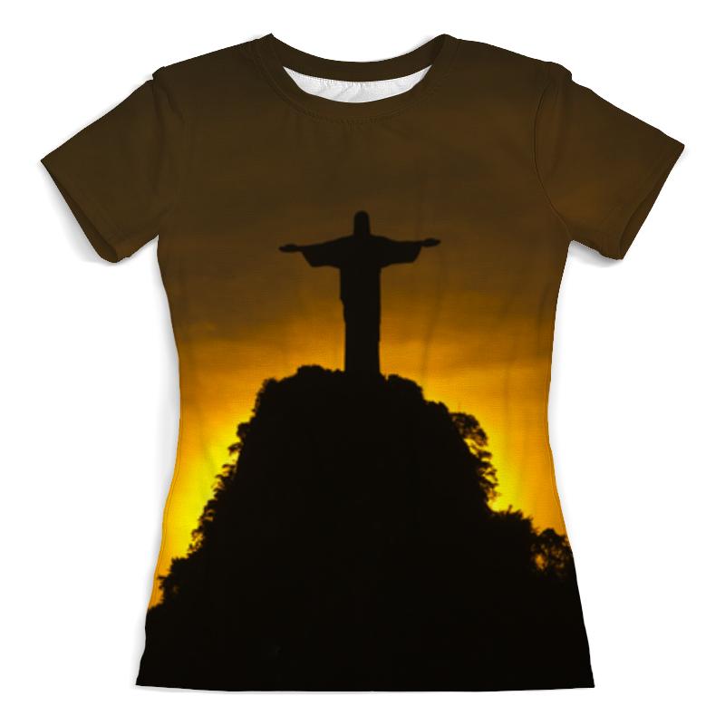 Футболка с полной запечаткой (женская) Printio Статуя футболка с полной запечаткой мужская printio 3d статуя