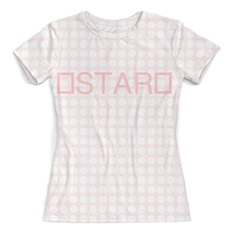 Футболка с полной запечаткой (женская) Printio Stars(pf) футболка с полной запечаткой  женская