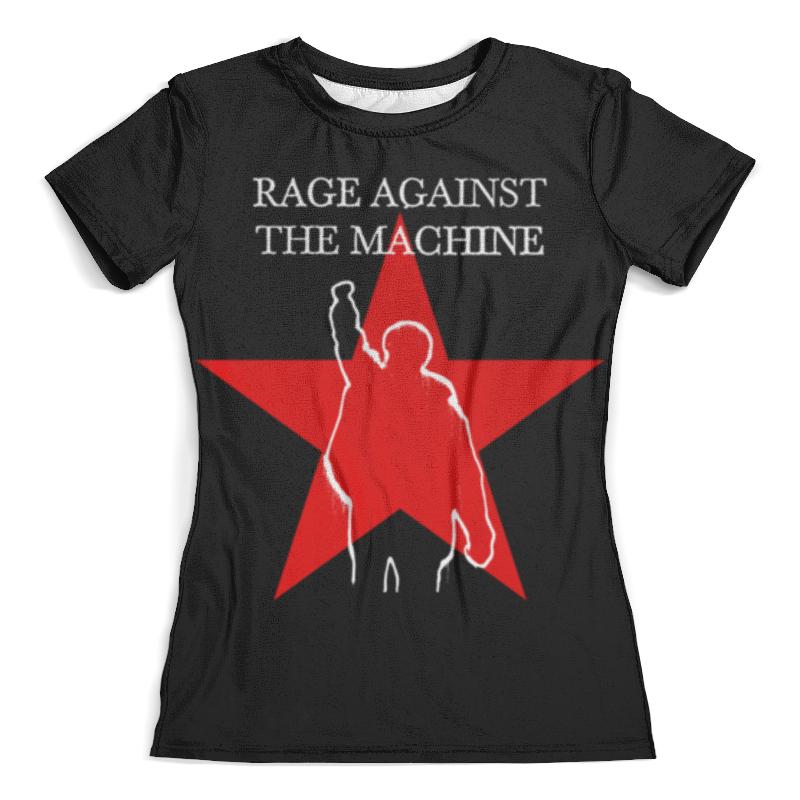 Футболка с полной запечаткой (женская) Printio Rage against the machine футболка с полной запечаткой мужская printio street of rage
