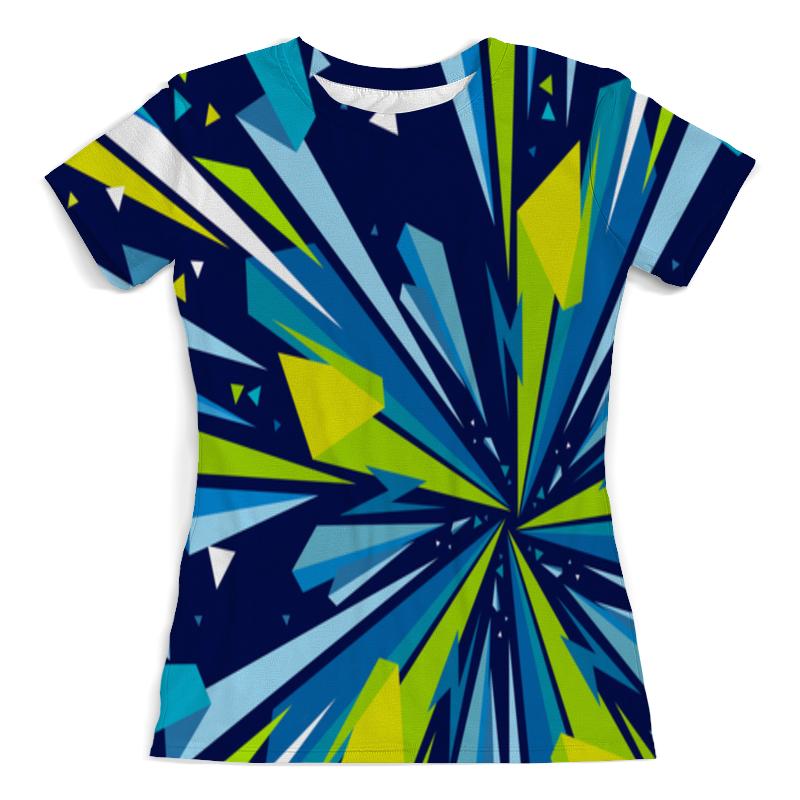 Футболка с полной запечаткой (женская) Printio Осколки футболка с полной запечаткой женская printio осколки
