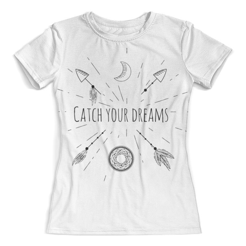 Футболка с полной запечаткой (женская) Printio Catch your dreams футболка с полной запечаткой женская printio dreams