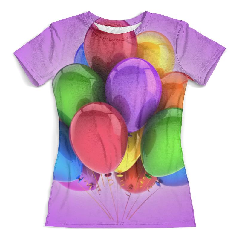 Футболка с полной запечаткой (женская) Printio Воздушные шары футболка с полной запечаткой женская printio разноцветные воздушные шары