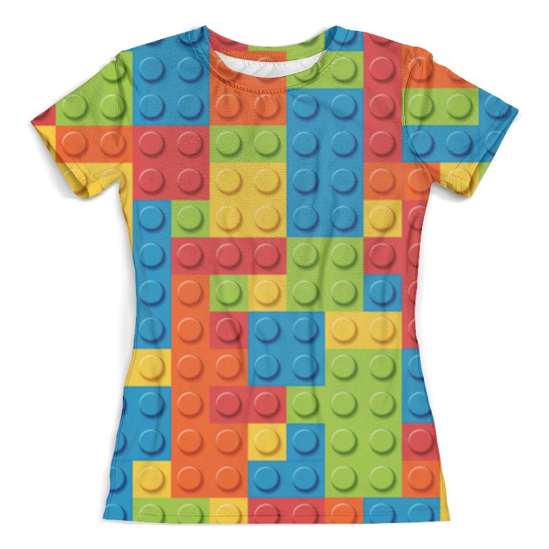 Футболка с полной запечаткой (женская) Printio Лего детское лего gudi