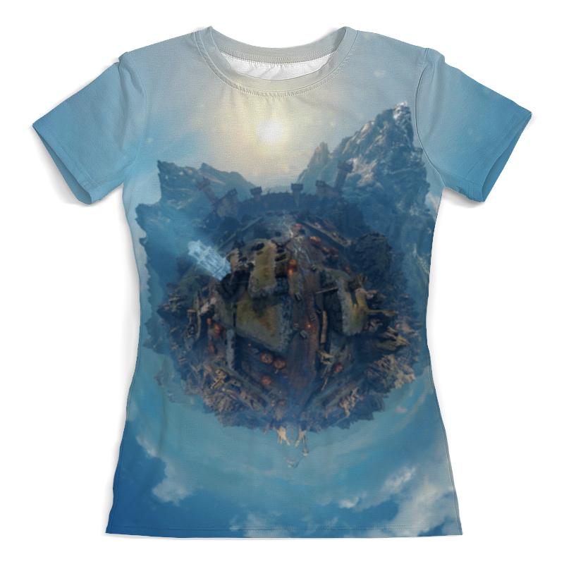 Printio Горный мир футболка с полной запечаткой женская printio world of winx мир винкс женская
