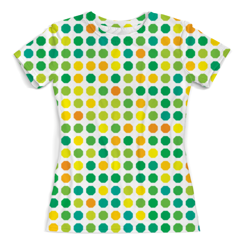 Футболка с полной запечаткой (женская) Printio Abstract styles pom pom trim knit cushion cover