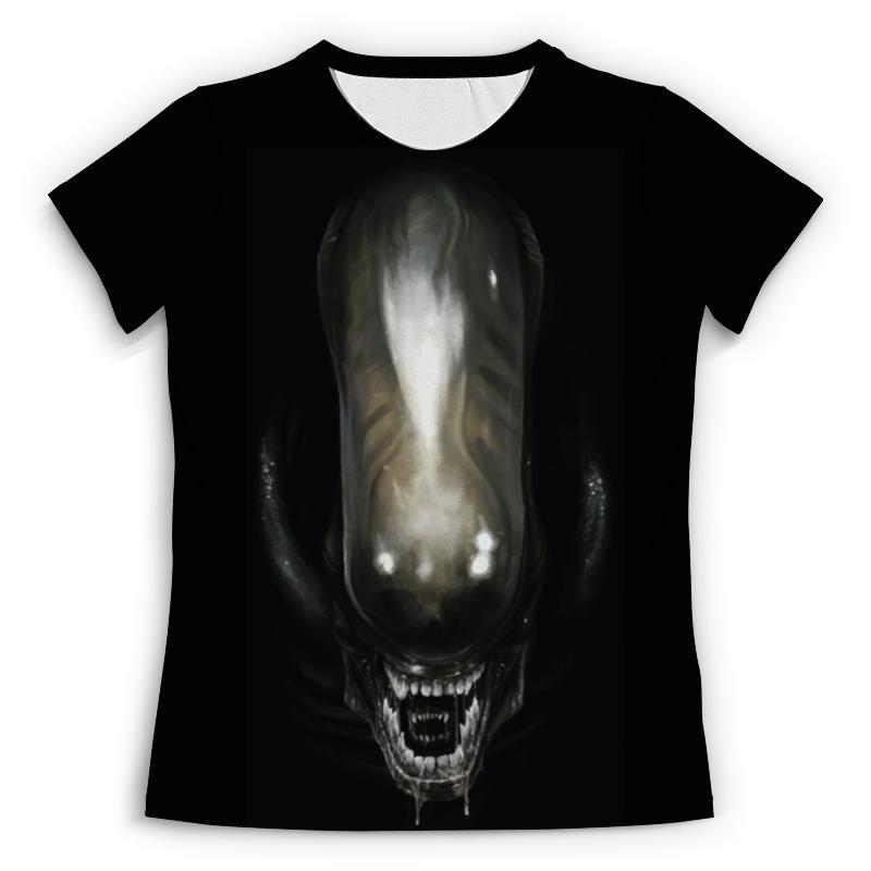 Футболка с полной запечаткой (женская) Printio Alien / чужой (женская) remonte женская