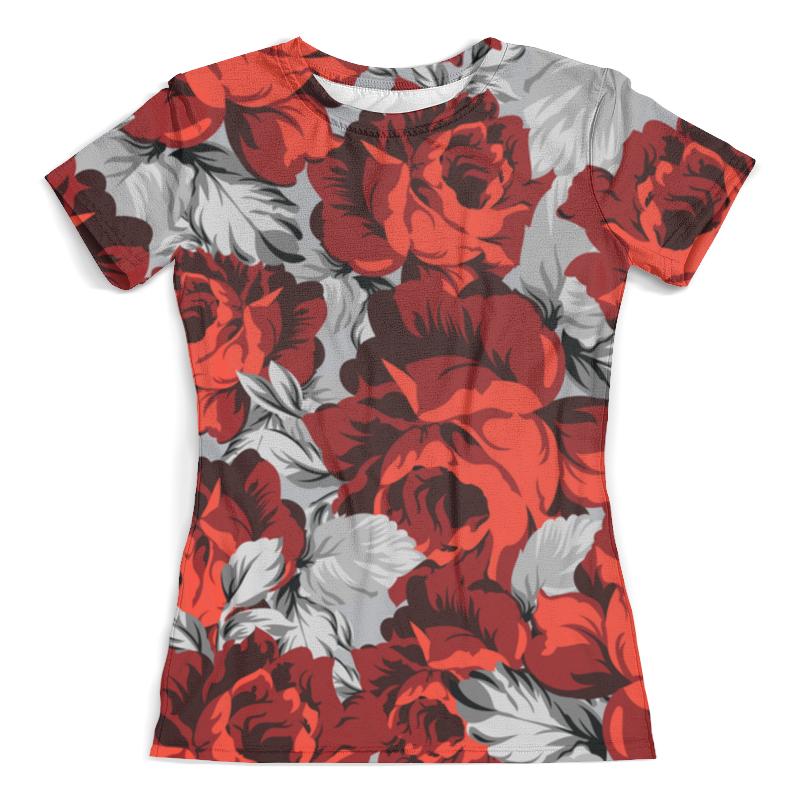 Футболка с полной запечаткой (женская) Printio Flower футболка с полной запечаткой printio spring flower