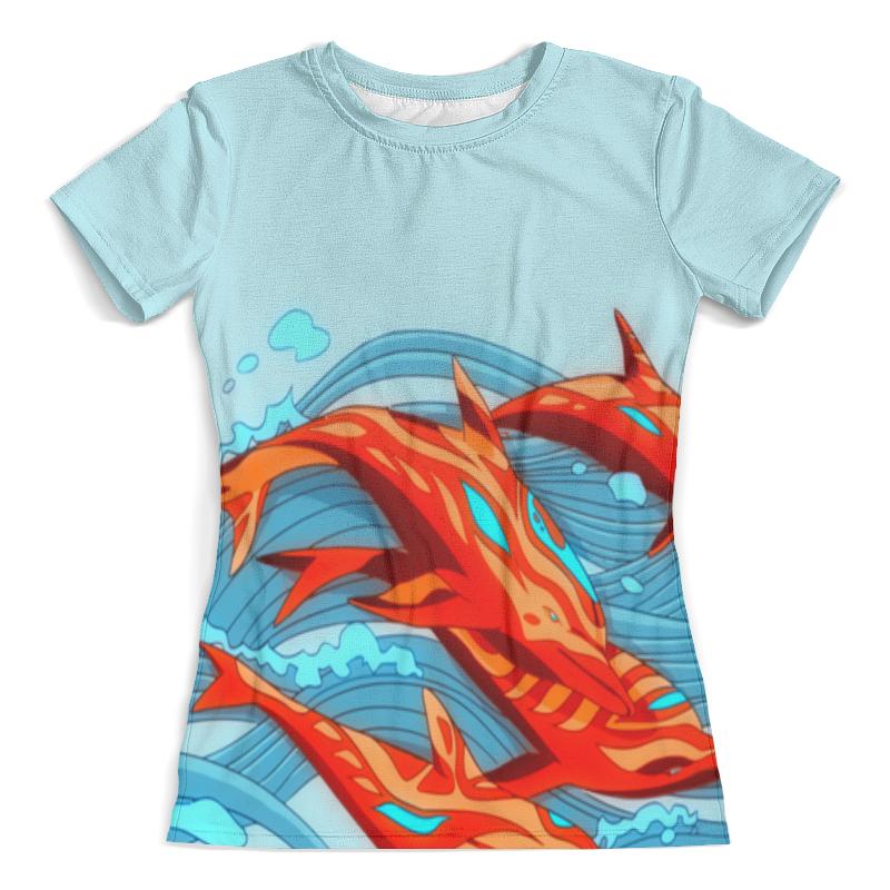 Футболка с полной запечаткой (женская) Printio Cs go :аквамарин футболка с полной запечаткой женская printio cs go asiimov camouflage
