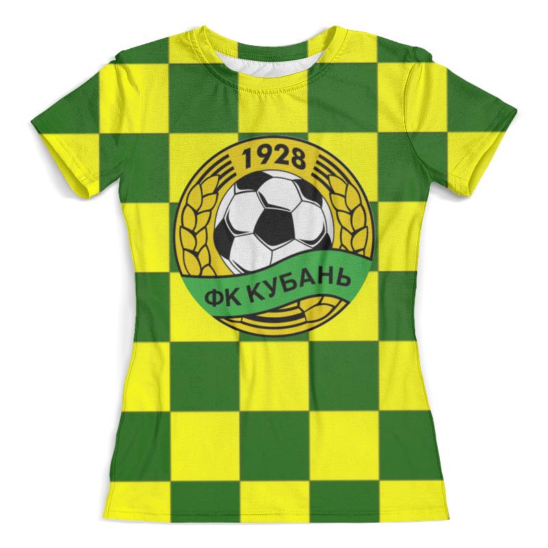 Футболка с полной запечаткой (женская) Printio Кубань пфк толстовка с полной запечаткой printio кубань пфк