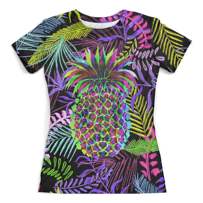Футболка с полной запечаткой (женская) Printio Flora design (ananas) футболка с полной запечаткой мужская printio ananas design