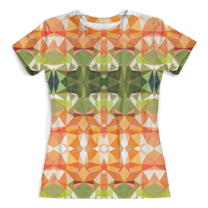 Футболка с полной запечаткой (женская) Printio Морковный фреш футболка с полной запечаткой для девочек printio морковный фреш