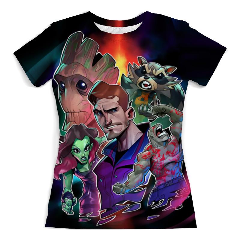 Футболка с полной запечаткой (женская) Printio Guardians of the galaxy футболка с полной запечаткой женская printio agents of chaos